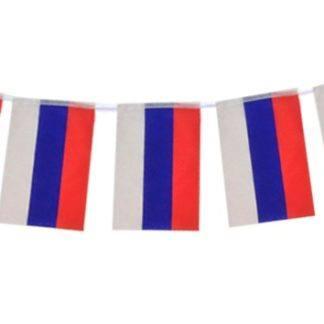 Гирлянда Российский Флаг, 450см