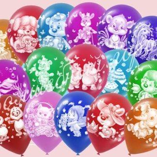 Воздушные шарики Детские 30см , 50 шт.
