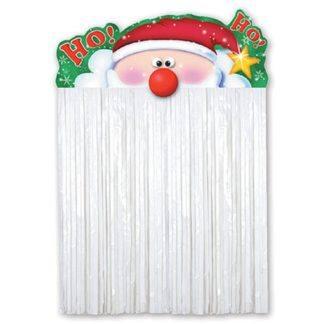 Украшение на дверь Санта Клаус 110см
