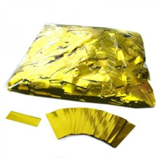 Металлизированное конфетти 17x55мм, золото