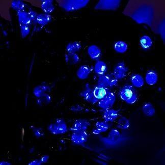"""Гирлянда """"Рождественский свет"""" 100л 6м синяя"""
