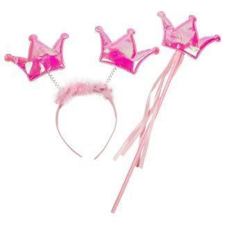 Набор Принцесса (ободок и волшебная палочка) розовый
