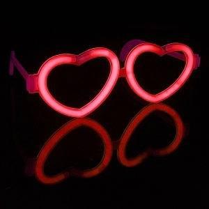 Светящиеся Очки (сердца)