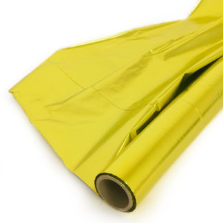 Упаковочная пленка Полисилк (1 x 50 м), Лимонный
