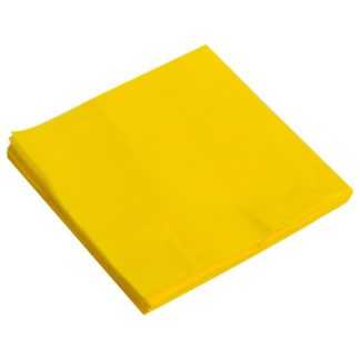 Салфетки жёлтые, 32х32см, 20шт