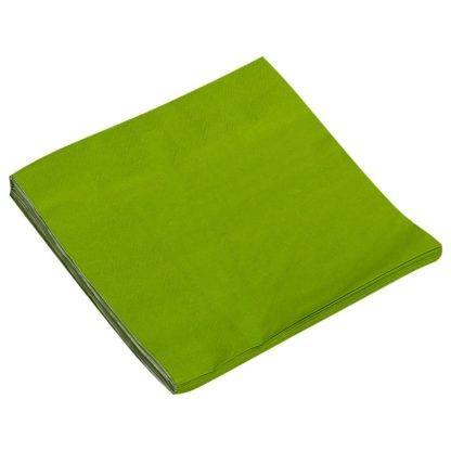 Салфетки зеленые, 32х32см, 20шт