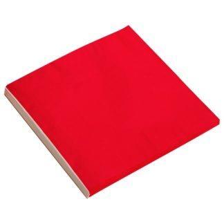 Салфетки красные, 32х32см, 20шт