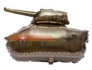 Фольгированный шар Танк, 80смX75см