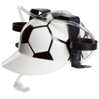 Каска пивная футбольная с 2-мя банками