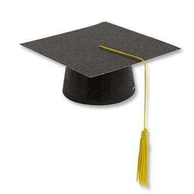 Шляпа бумажная мини Выпускник