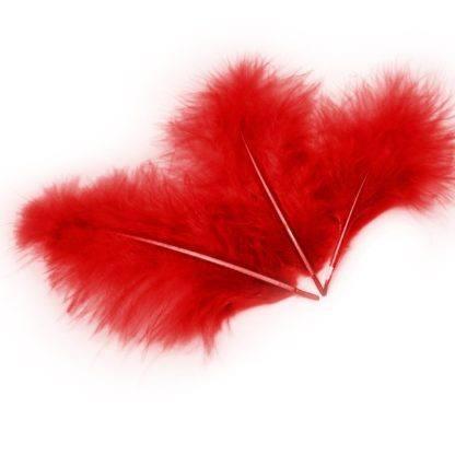 Перья красные