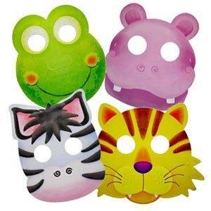 Карнавальные маски Забавные зверята асс. 5штук