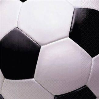 Салфетка Футбол 33см 16шт