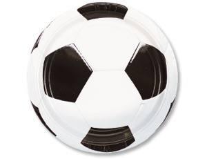 Тарелка Футбол 23см 8шт/A