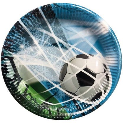 Тарелки большие Фанаты Футбола, 8 штук