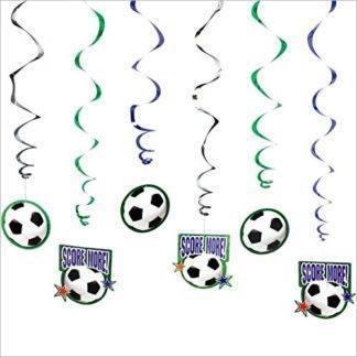 Спираль Футбол 46-60см, 12штук