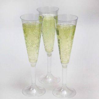 Бокал для шампанского пластиковый 160мл, 1шт.
