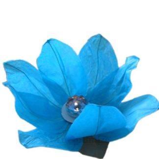 Водный фонарик Лотос голубой