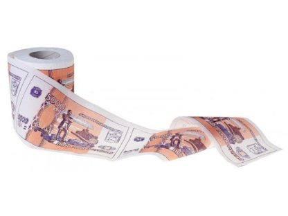 Туалетная бумага ''5000 рублей''