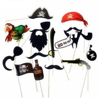 Набор для фотосессии Морские пираты, 16шт