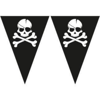 Гирлянда-вымпел Череп пирата