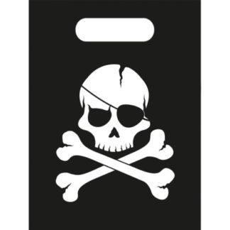 Пакеты для подарков Череп пирата