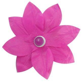 Водный фонарик Лотос розовый