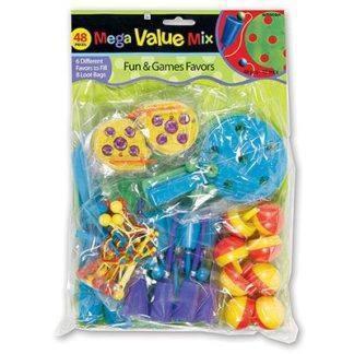 Игрушки для подарков Забавные Игры, 48 шт