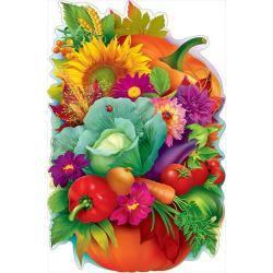 """Плакат """"Тыква с овощами"""", А1"""