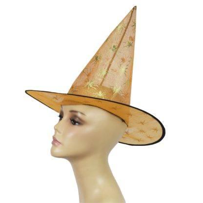 Колпак ведьмы прозрачный (Оранжевая/Серебро/Золото) в асс.