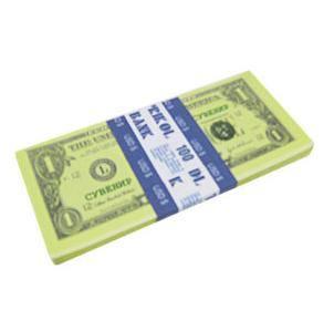 Имитация пачки денег-1$