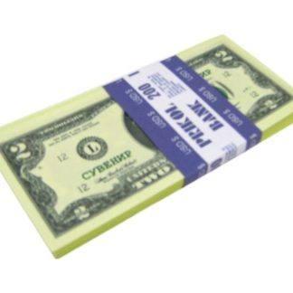 Имитация пачки денег-2$