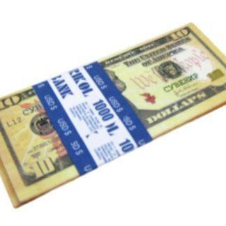 Имитация пачки денег-10$