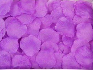 Лепестки роз ,фиолетовый, 300шт