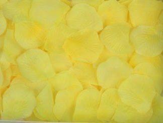 Лепестки роз ,желтый, 300шт