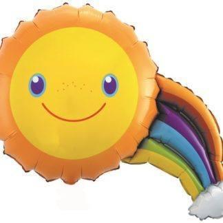Шар-мини Солнечная радуга, 41см