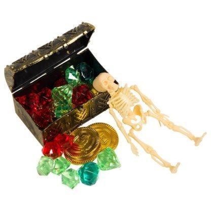 Карнавальный набор пирата, сундук с сокровищами