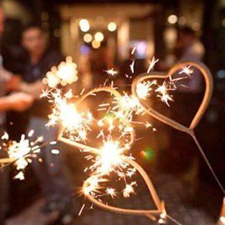 Бенгальская свеча Сердце, 1шт