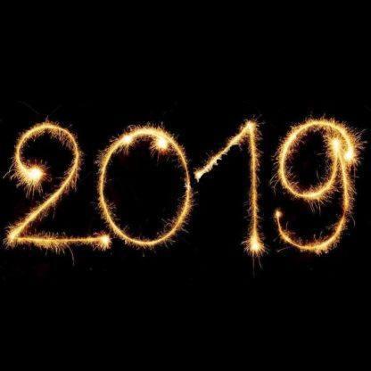 Бенгальские Свечи цифры 2019