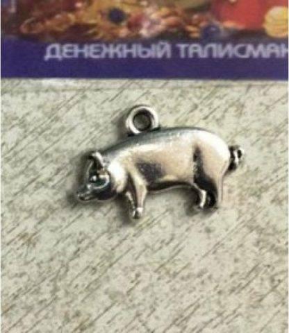 Кошельковый талисман Свинка денежная