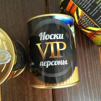 Носки VIP персоны в банке