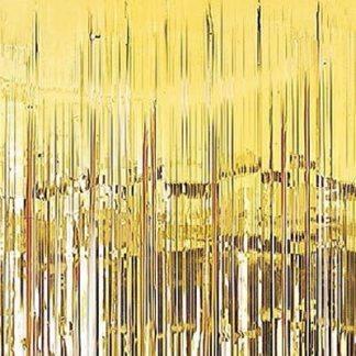 Юбка для стола фольгированная золотая