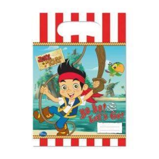 Пакеты для сувениров Пират Джейк, 6 штук