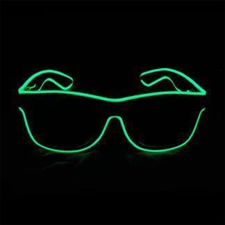 Очки с подсветкой Green
