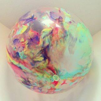 Набор - Прозрачные шарики 10шт, Краска (тюбики) для шаров 12 шт.