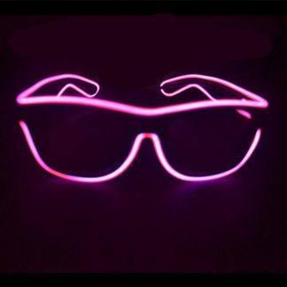 Очки с подсветкой HOT PINK
