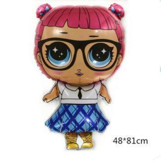 """Фольгированный шар """"Кукла"""" 48х81 см Teacher's Pet (любимчик учителя)"""