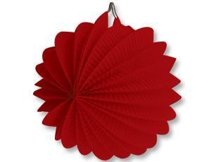 Фонарик бум круглый красный 25см