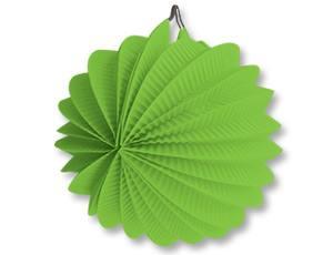 Фонарик бум круглый светл-зеленый 25см