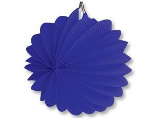 Фонарик бум круглый синий 25см